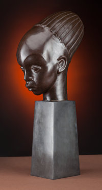 Viktor Schreckengost (American, 1906-2008) Mangbetu Child, sculpted in 1932, second lifetime cast from