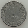 Philippines:Culion Leper Colony, Philippines: Culion Leper Colony. USA Administration Pair 1913,... (Total: 2 coins)