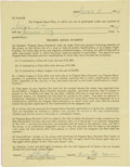 Baseball Collectibles:Others, 1964 Bobby Murcer's First Professional Baseball Contract, New York Yankees Farm Club....