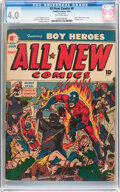 Golden Age (1938-1955):Superhero, All New Comics #8 (Family Comics, 1944) CGC VG 4.0 Off-white pages....