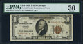 Fr. 1860-G* $10 1929 Federal Reserve Bank Note. PMG Very Fine 30