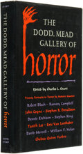 Books:Horror & Supernatural, Charles L. Grant (editor). The Dodd, Mead Gallery of Horror. New York: Dodd, Mead & Company, [1983]....