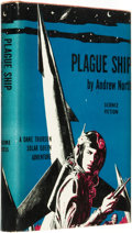 "Books:Science Fiction & Fantasy, Andre Norton, writing as ""Andrew North."" Plague Ship: A Dane Thorson-Solar Queen Adventure by Andrew North [pseudonym]. ..."