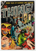 Golden Age (1938-1955):Horror, The Thing! #12 (Charlton, 1954) Condition: VG-....