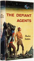 Books:Science Fiction & Fantasy, Andre Norton. The Defiant Agents. Cleveland and New York: The World Publishing Company, [1962]. ...