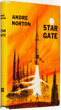 Books:Science Fiction & Fantasy, Andre Norton. Star Gate. New York: Harcourt, Brace and Company, [1958]. ...