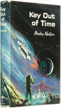 Books:Science Fiction & Fantasy, Andre Norton. Key Out of Time. Cleveland and New York: The World Publishing Company, [1963]. ...