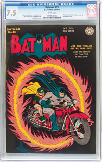 Batman #25 (DC, 1944) CGC VF- 7.5 White pages