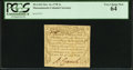 Colonial Notes:Massachusetts, Massachusetts October 16, 1778 3s PCGS Very Choice New 64.. ...