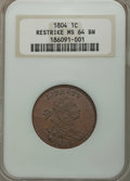 1804 1C Restrike MS64 Brown NGC....(PCGS# 45344)