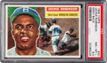 Baseball Cards:Singles (1950-1959), 1956 Topps Jackie Robinson (Gray Back) #30 PSA NM-MT 8....