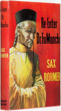Books:Pulps, Sax Rohmer (pseudonym of Arthur S. Ward). Re-Enter Dr. FuManchu. London: Herbert Jenkins, [1957]....