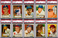Baseball Cards:Sets, 1952 Topps Baseball Complete Low & Middle Series Run (310) Plus 19 High Numbers. ...