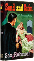 Books:Pulps, Sax Rohmer. Sand and Satin: A Sumuru Story. London: HerbertJenkins, [1955]. ...