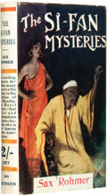 Books:Pulps, Sax Rohmer (pseudonym of Arthur S. Ward). The Si-FanMysteries. London: Methuen & Co. Ltd., [1920]....