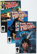 Modern Age (1980-Present):Superhero, The New Mutants Group of 80 (Marvel, 1983-85) Condition: AverageVF/NM.... (Total: 80 Comic Books)