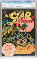 Golden Age (1938-1955):Superhero, All Star Comics #18 (DC, 1943) CGC FN+ 6.5 Off-white to white pages....