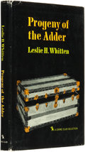 Books:Horror & Supernatural, Leslie H. Whitten. INSCRIBED. Progeny of the Adder. Garden City: Published for the Crime Club by Doubleday & Com...