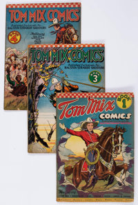 Tom Mix Comics Group of 4 (Ralston-Purina Co., 1940-42) Condition: Average GD.... (Total: 4 Comic Books)