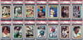 Baseball Cards:Sets, 1991 Topps Desert Shield High Grade Complete Set (792). ...