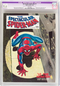 Spectacular Spider-Man #1 (Marvel, 1968) CGC Apparent NM+ 9.6 Slight (A-1) White pages