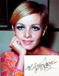 Autographs:Celebrities, Twiggy Autograph. ...