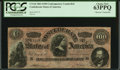 """Confederate Notes:1864 Issues, CT65/491 """"Havana"""" Counterfeit $100 1864.. ..."""
