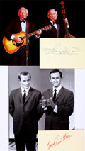 Autographs:Celebrities, Smothers Brothers Autographs. ...