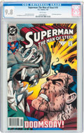 Modern Age (1980-Present):Superhero, Superman: The Man of Steel #19 (DC, 1993) CGC NM/MT 9.8 White pages....