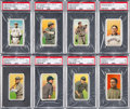 Baseball Cards:Lots, 1909-11 T206 White Borders PSA Graded Collection (8) With SL andHoFers. ...