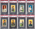 Baseball Cards:Lots, 1909-11 T206 White Borders Hall of Famers PSA Graded Collection(8). ...