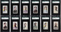 Baseball Cards:Sets, 1910-11 M116 Sporting Life Partial Set (150/287). ...