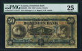 Canadian Currency: , Toronto, ON- The Dominion Bank $50 Jan. 2, 1925 Ch. # 220-22-08....