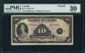 Canadian Currency: , BC-8 $10 1935. ...
