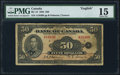 Canadian Currency: , BC-13 $50 1935. ...