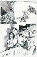 "Original Comic Art:Panel Pages, Jim Lee Batman #609 ""Hush"" Story Page 20 Original Art (DC,2003)...."
