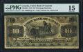 Canadian Currency: , Winnipeg- MB - The Union Bank of Canada $10 July 1, 1912 Ch. # 730-16-08. ...