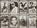 Baseball Collectibles:Others, 1973-80 TCMA All-Time Greats Signed Postcards Lot of 29....
