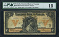 Canadian Currency: , Toronto, ON- The Standard Bank of Canada $5 Jan. 2, 1918 Ch. # 695-18-06. ...