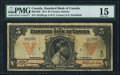 Canadian Currency: , Toronto, ON- The Standard Bank of Canada $5 January 2, 1914 Ch. #695-18-02. ...