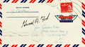 Autographs:U.S. Presidents, Gerald Ford Signed Air Mail Cover....