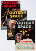 Silver Age (1956-1969):Science Fiction, Outer Space Group of 9 (Charlton, 1958-59) Condition: Average VG.... (Total: 9 Comic Books)