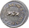 Colonials, 1783 THREEPENCE Chalmers Threepence, Breen-1018, W-1760, R.5, MS61 NGC....