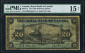 Canadian Currency: , Montreal, PQ- The Royal Bank of Canada $20 Jan. 2, 1913 Ch. #630-12-12. ...