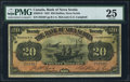 Canadian Currency: , Halifax, NS- The Bank of Nova Scotia $20 Jan. 2, 1925 Ch. # 550-28-18. ...