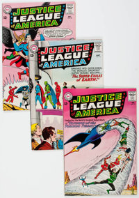 Justice League of America #17, 19, and 32 Group (DC, 1963-64).... (Total: 3 Comic Books)