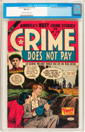 Golden Age (1938-1955):Crime, Crime Does Not Pay #44 and 118 Plus Group of 3 (Lev Gleason, 1940s-50s).... (Total: 3 Comic Books)