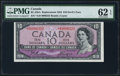 Canadian Currency: , BC-32bA $10 1954 Devil's Face Replacement. ...