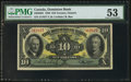 Canadian Currency: , Toronto, ON- Dominion Bank $10 Jan. 3, 1938 Ch. # 220-28-04. ...