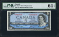 Canadian Currency: , BC-39aA $5 1954 Replacement. ...